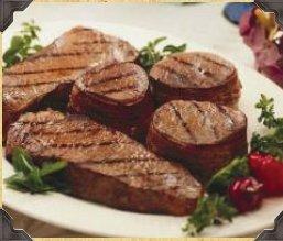 Sirloin Steak with Rum Sauce