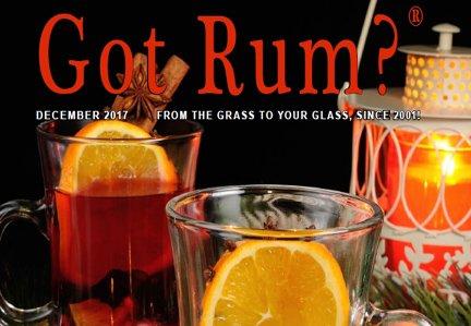 """""""Got Rum?"""" December 2017 Featured Story"""