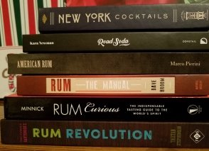 Collection of Books for Rum SHopping Guide