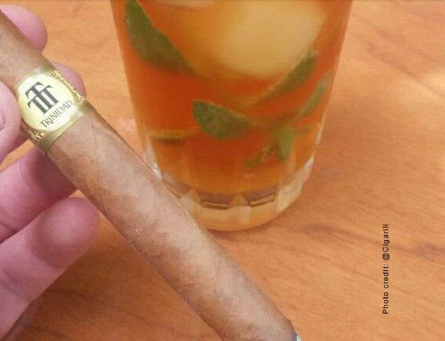 Cigar and Stormy Mojito Pairing
