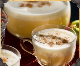 Holiday Spiced Eggnog