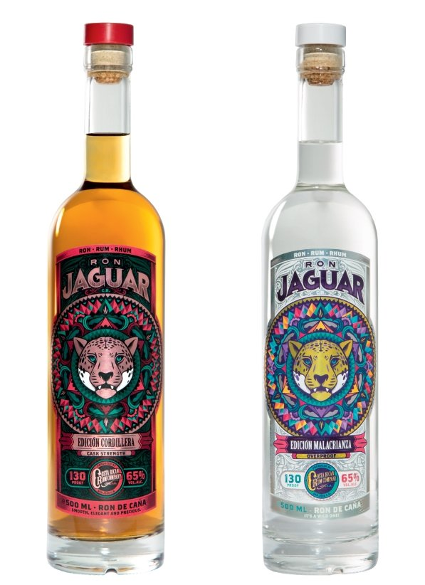 Ron Jaguar Rum Bottles