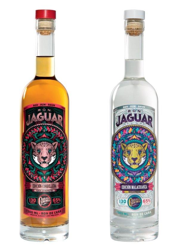 Ron Jaguar Rum Bottles