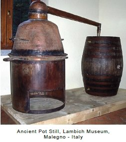Ancient pot still from Italy