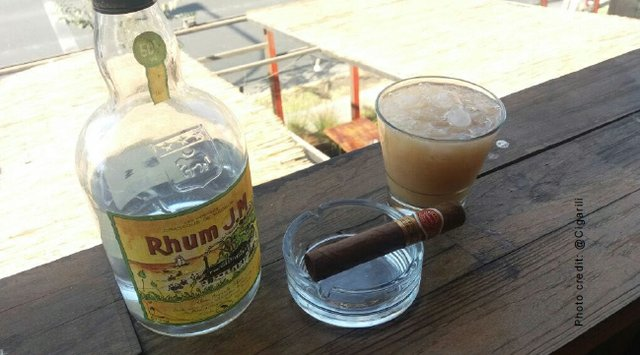 April 2018 Cigar and Rum Pairing