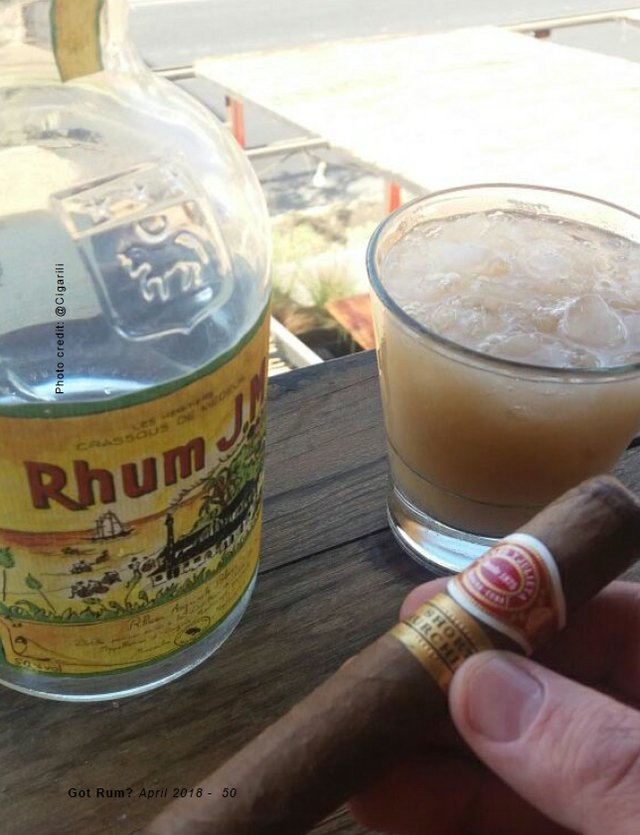 Cigar and Rum Pairing for April 2018