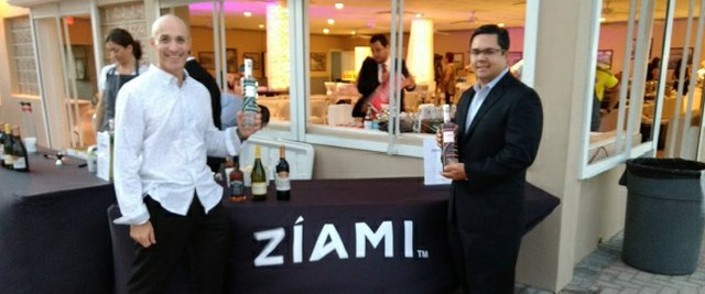 Ziami booth with Victor Olshansky