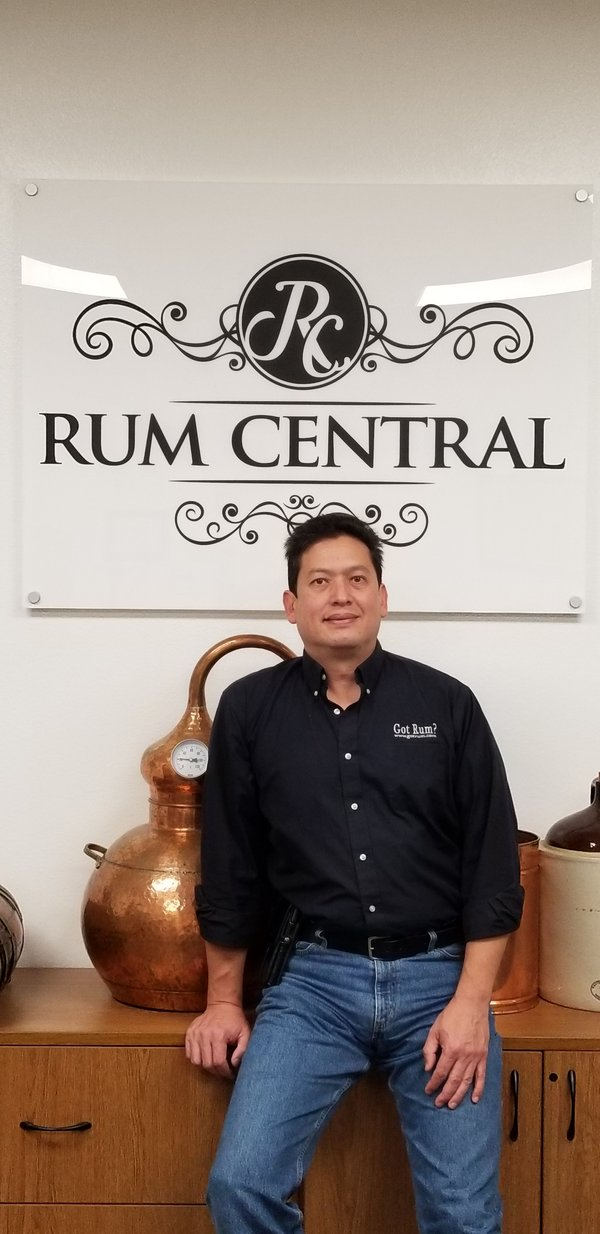 Luis Ayala, Rum Consultant and CEO of Rum Central