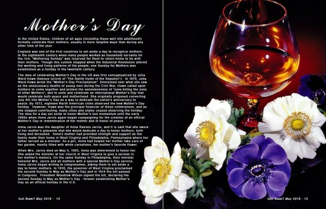 Mother's Day throughout the World