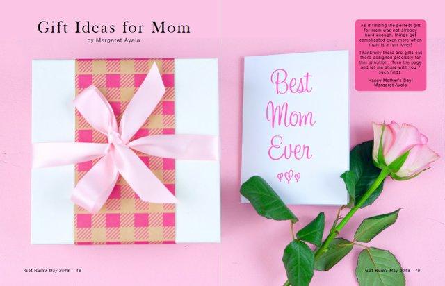 Rum Gift Ideas for Mom