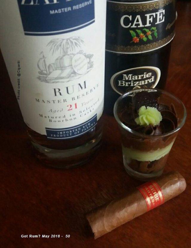 May 2018 Cigar and Rum Pairing