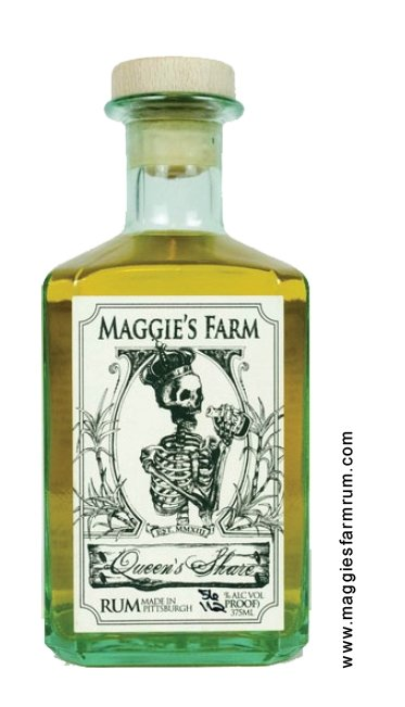 Maggie's Farm Queen's Share Bourbon Barrel Aged Rum