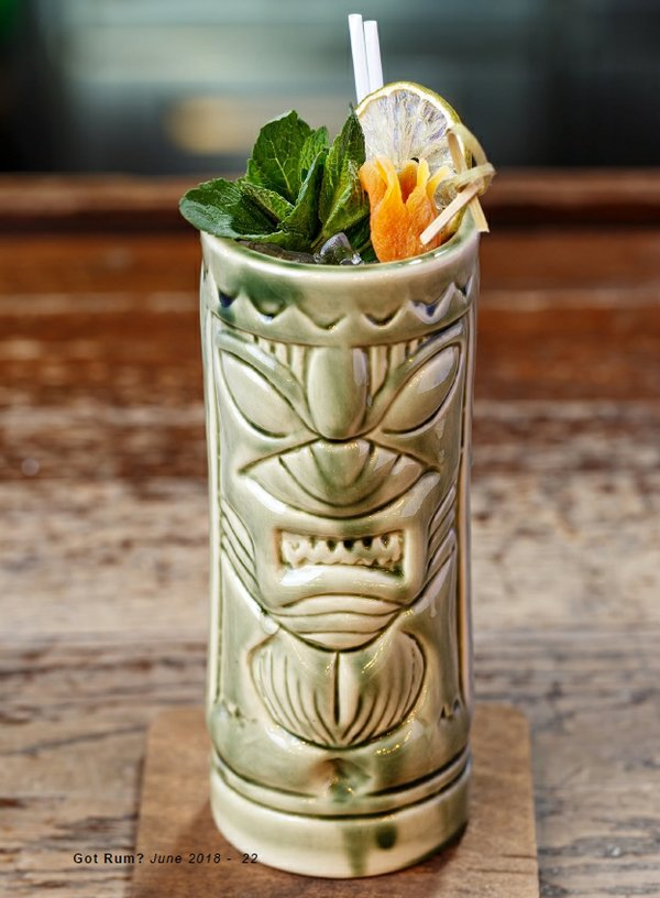 Fog Cutter Tiki Cocktail