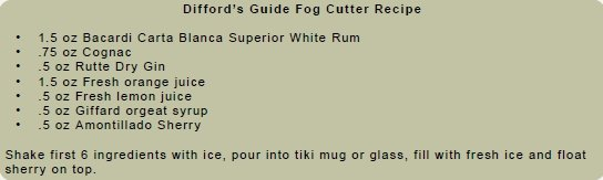Difford'S Guide Fog Cutter