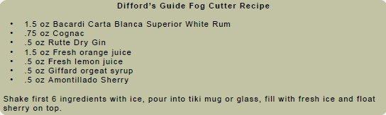 Difford'S Guide Fog Cutter