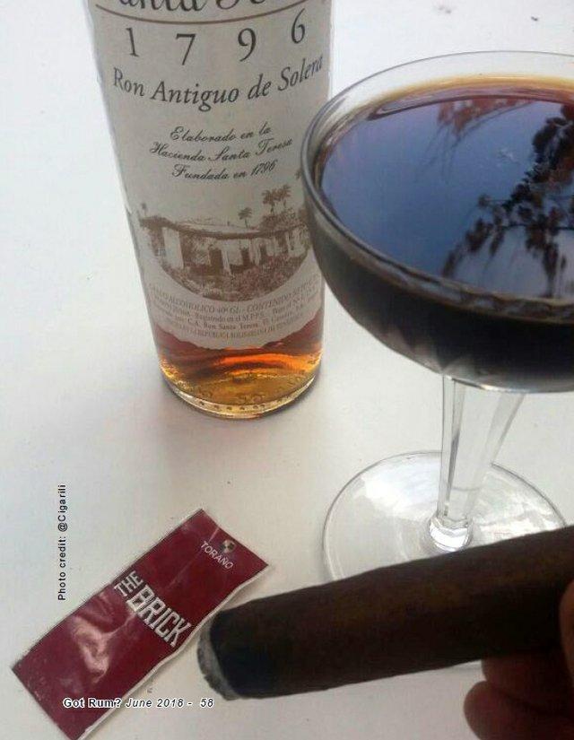 June 2018 Cigar and Rum Pairing