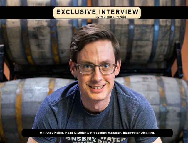 Exclusive Interview with Andy Keller of Blackwater Distilling