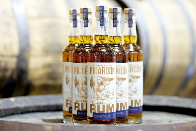 Picaroon Solera Rum bottles
