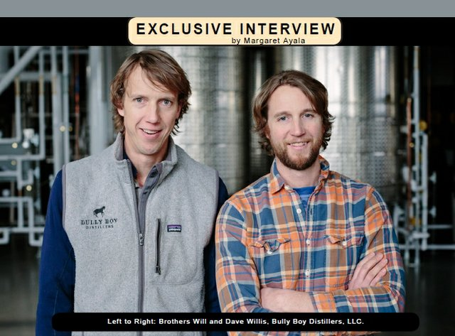 Exclusive Interview with Dave Willis of Bully Boy Distillers