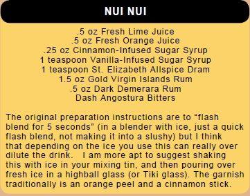 Nui Nui Recipe