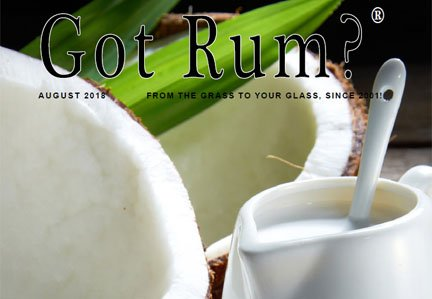 """""""Got Rum?"""" August 2018 Featured Story"""