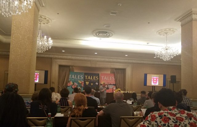 Seminar at Tales of the Cocktail in NOLA