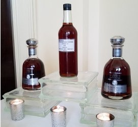 Rum Bottles on Display at tales of the Cocktail in NOLA