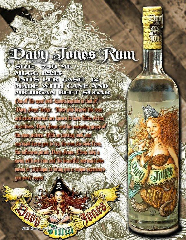 Davy Jones White Rum