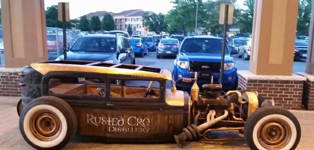 Rusted Crow Antique Hot Rod