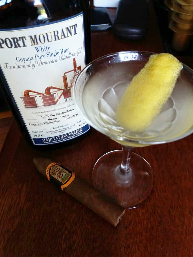 August 2018 Cigar and Rum Pairing