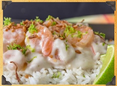 Creamy Coconut Shrimp