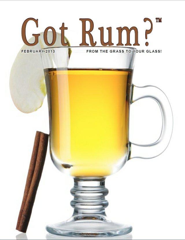 """Got Rum?"" February 2013 Cover"