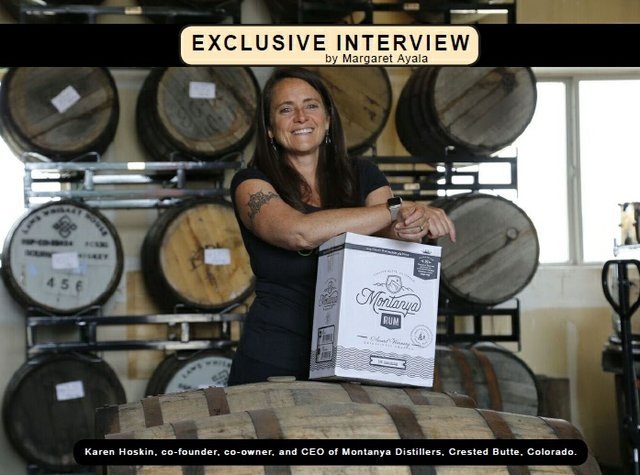 Karen Hoskin CEO of Montanya Distillers