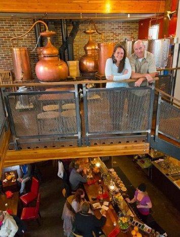 Distillery and Tasting Room at Montanya Distillers