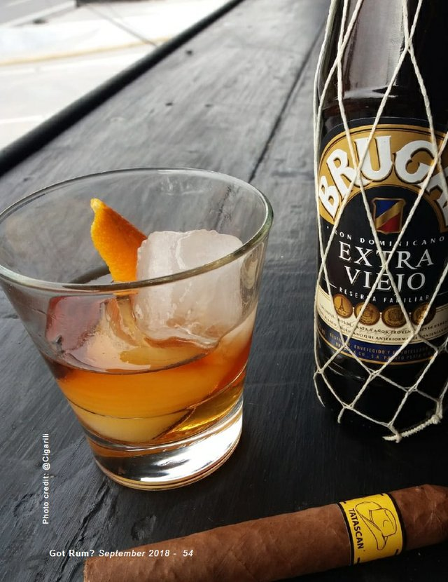 September 2018 Cigar and Rum Pairing