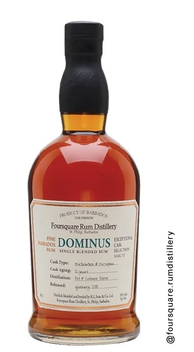 Foursquare Rum Distillery Exceptional Cask Dominus