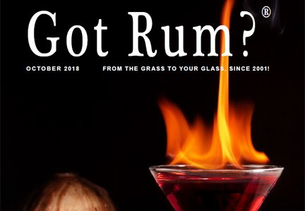 """Got Rum?"" October 2018 Featured Story"