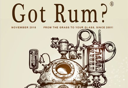 """Got Rum?"" November 2018 Featured Story"