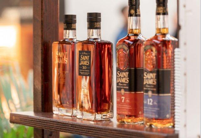 Saint James bottles
