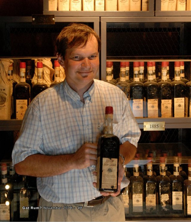Marc Sassier with Saint James bottle
