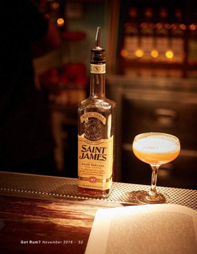 Saint James in a glass and book