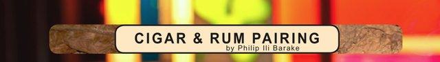 Cigar & Rum Pairing Title