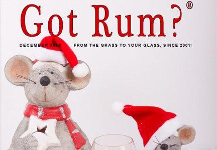 """""""Got Rum?"""" December 2018 Featured Story"""
