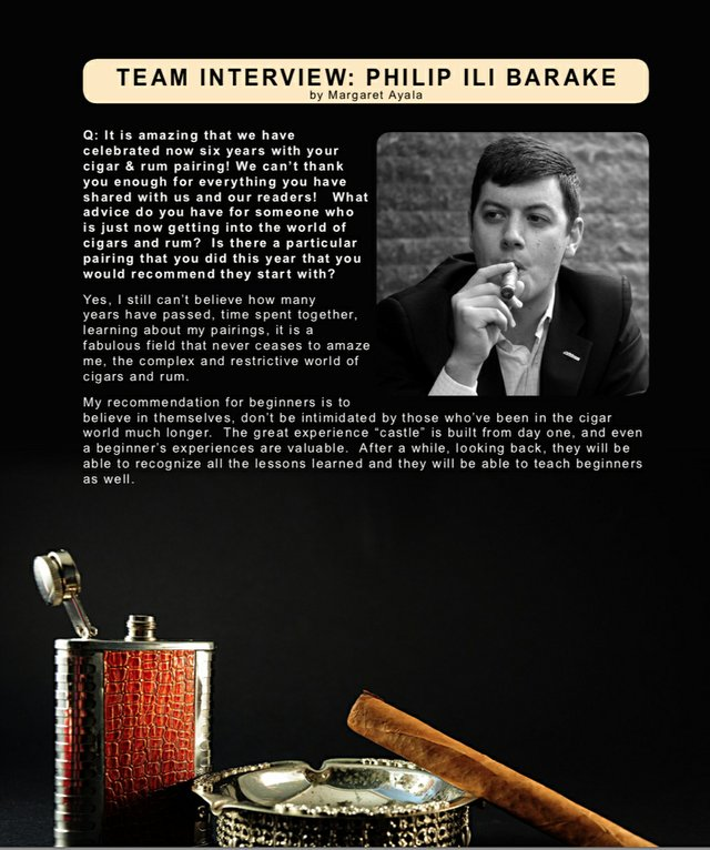 Philip Barake Team Interview for December