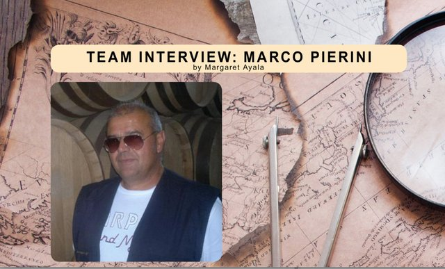 Marco Pierni Team Interview for December