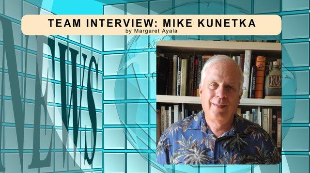 Mike Kunetka Team Interview for December