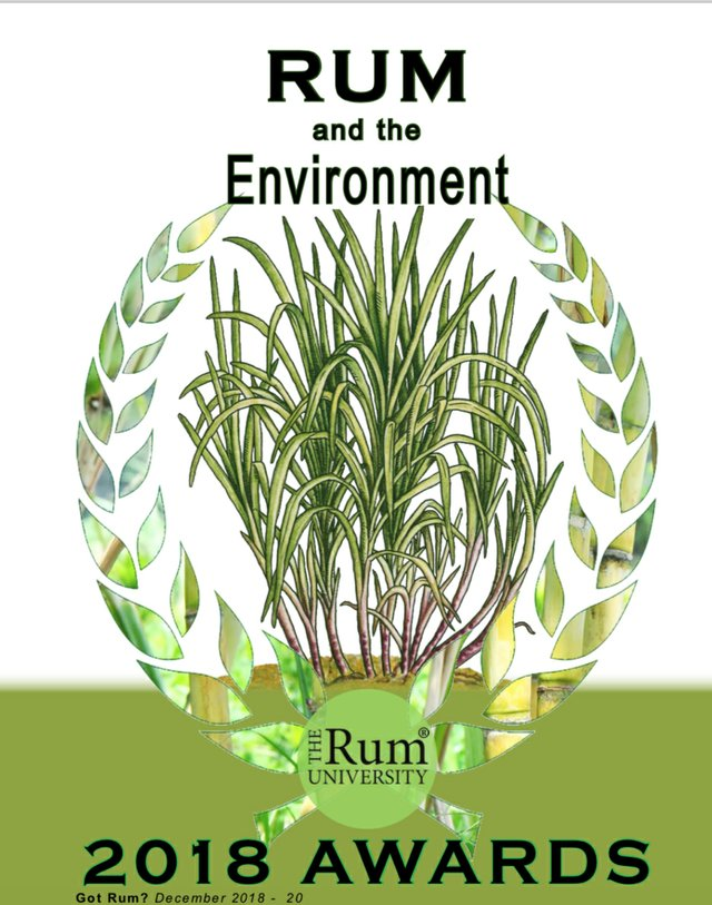 Rum and The Environment title