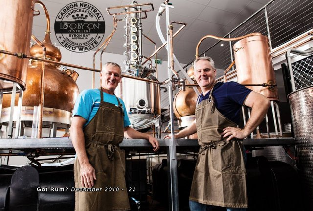Lord Byron Distillery Owners