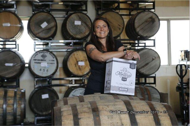 Montanya Distillers Owner.