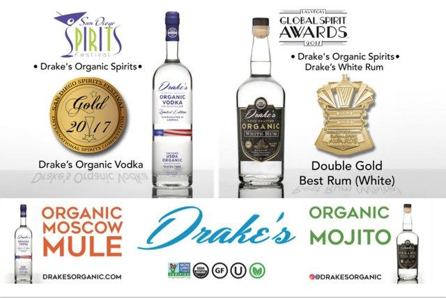 Drake's Organic Mojito and Mule